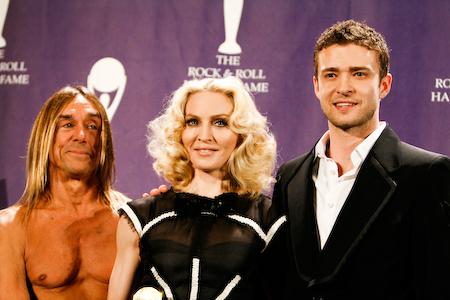 Madonna e Iggy